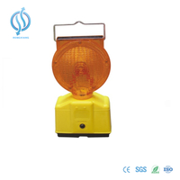 Solar Traffic Hazard Warning Light