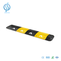 Reflective Recycled Rubber Speed Humps